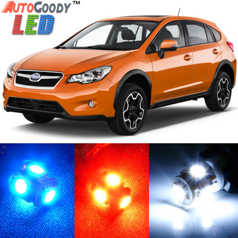 Premium Interior LED Lights Package Upgrade for Subaru XV Crosstrek (2013-2017)