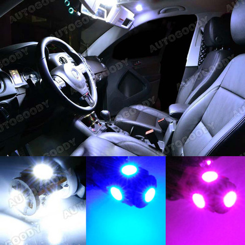 Led lights interior package kit for accent sedan hatchback autogoody for Interior accent lights for cars