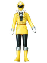 Power Rangers Super Megaforce Gokaiger Vinyl figure Yellow Ranger