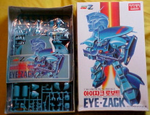 Gundam ZZ Eye Zack Model Kit Academy 1/144