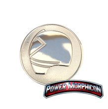 Power Morphicon 2012 Power Rangers Samurai Convention Coin Silver