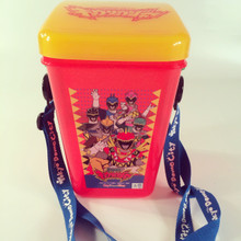 Kyouryuuger Dino Charge Popcorn bucket from the Live show in Japan