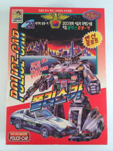Korean Transformer Bootleg Policeman Robo Car Prowl