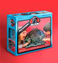SDCC 2014 ReAction Figures Alien Egg Chamber Playset Blue Box