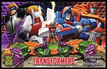 Transformers Bot Con 2014 Knights VS Pirates Box Set