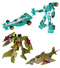 Transformers Bot Con 2013 Exclusive Mirage and Thundercraker set