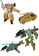 Transformers Bot Con 2013 Exclusive Electron and Sandstorm set