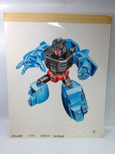 Transformers Micromaster Autobots Rescue Patrol Seawatch Original art