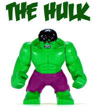 Brand new - Lego: Hulk Minifigure (Purple Pants Version)