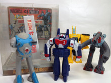 Macross Takatoku Vinyl Set 4 part 2 Armored Vf-1J Destroid Phalanx Tactical Pod Regult Command Pod Glaug