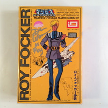 Macross Signed Dan Woren Roy Folker Model Kit Imai Robotech