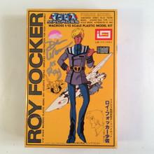 Macross Signed Dan Woren Roy Folker Model Kit Imai Robotech