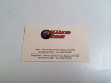 Original Kamen Rider business Card Saban