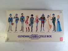 Gundam Chara Colle Box Set 10 crystal Clear Figures Amaro , Char, and more
