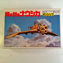Nausicaa Valley of the Wind Gunship Model Kit Tsukuda Hobby 1/72 scale C
