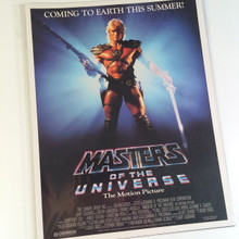 He-Man Masters of the Universe the Motion Picture promo Gary Goddard