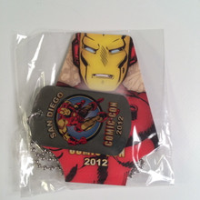 SDCC Comic Con Marvel Iron Man dog tag Exclusive