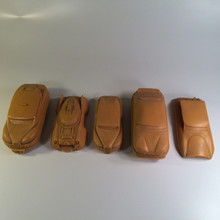 Fifth Element unused hover cars original resin casts