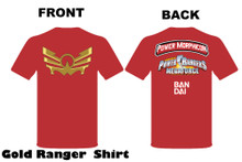 Copy of Power Morphicon 2010 Convention Shirt 2x Large Power Rangers Megaforce