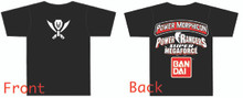 Power Morphicon 2014 Convention Shirt 3x Large Power Rangers Super Megaforce