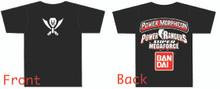 Power Morphicon 2014 Convention Shirt 3x Large Power Rangers Super Megaforce