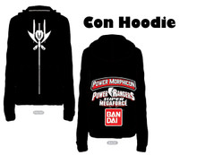 Power Morphicon 2014 Convention Hoodie Large Power Rangers Super Megaforce