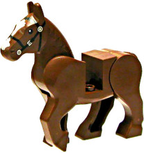 Lego - Brown Horse with movable limbs.