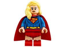 Lego Supergirl minifigure.