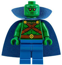 Lego Martian Manhunter Minifigure.