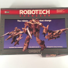 Robotech Defenders Model Kit Orbot VF-1D fully transformable 1/72 opened box Macross
