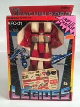 Henshin Robo Legioss Alpha Fighter Red AFC-01 Robotech Gakken Small version