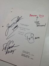 Original Mighty Morphin Power Rangers Signed Script Episode 98 Jason David Frank Steve Cardenas Paul Schrier