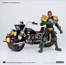 2000AD JUDGE DREDD With LAWMASTER Box set ThreeA 1/12 scale