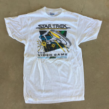 Star Trek Strategic Operations Simulator Vintage T-Shirt by SEGA Size Large