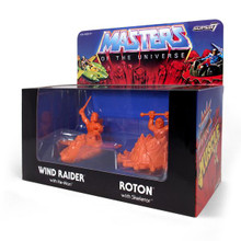 MOTU M.U.S.C.L.E. Wind Raider and Roton - Orange SDCC 2017 Skeletor's Lair