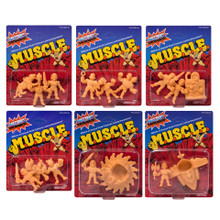 MOTU M.U.S.C.L.E. Wave 3 - Complete set all 6 packs