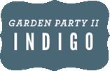 Garden Party II Indigo