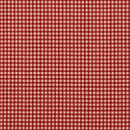 French Country Crimson Gingham Shower Curtain