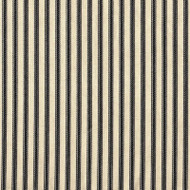 French Country Black Ticking Sham