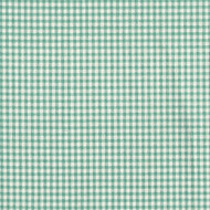 French Country Pool Green Gingham Tailored Bedskirt