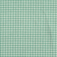 French Country Pool Green Gingham Gathered Bedskirt
