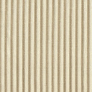 French Country Linen Beige Ticking Stripe Duvet Cover