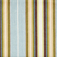 Belmont Seaglass Blue Stripe Bedskirt