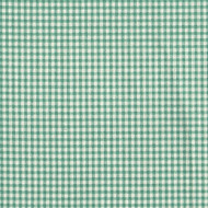 French Country Pool Green Gingham Rod Pocket Curtain Panels