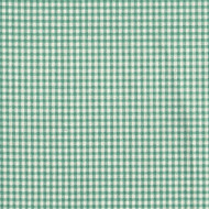 French Country Pool Green Gingham Pinch-Pleated Curtain Panels