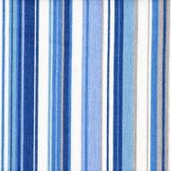 Victoria Lagoon Stripe Pinch-Pleated Curtain Panels