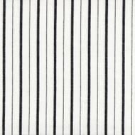 Piper Black Stripe Sham