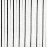 Piper Black Stripe Tailored Bedskirt