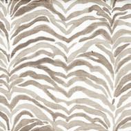 Serengeti Bisque Gray Animal Print Shower Curtain