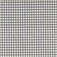 French Country Brindle Gray Gingham Tab Top Patio Door Curtain Panels